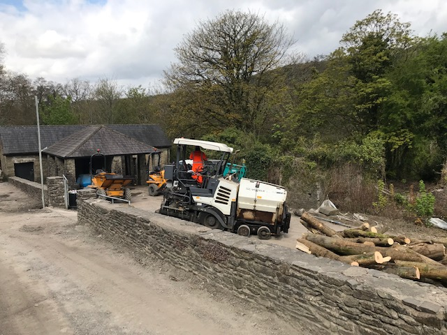 towpath canal work